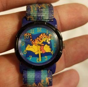 Disney winnie the Pooh tigger wristwatch watch kid